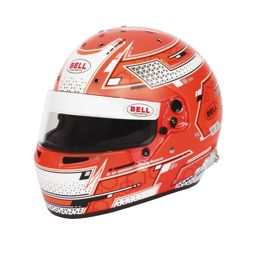 Helm Bell, Modell RS7 Stamina rot, mit Hans-Clip