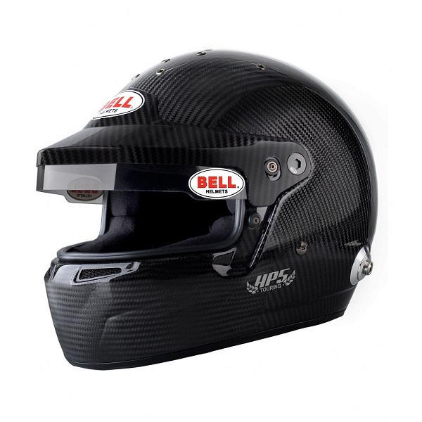 Helm Bell, Modell HP5 Touring, Carbon, mit Hans-Clip