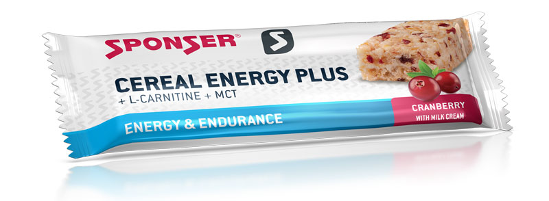 Cereal Energy Plus, 40g, Cranberry