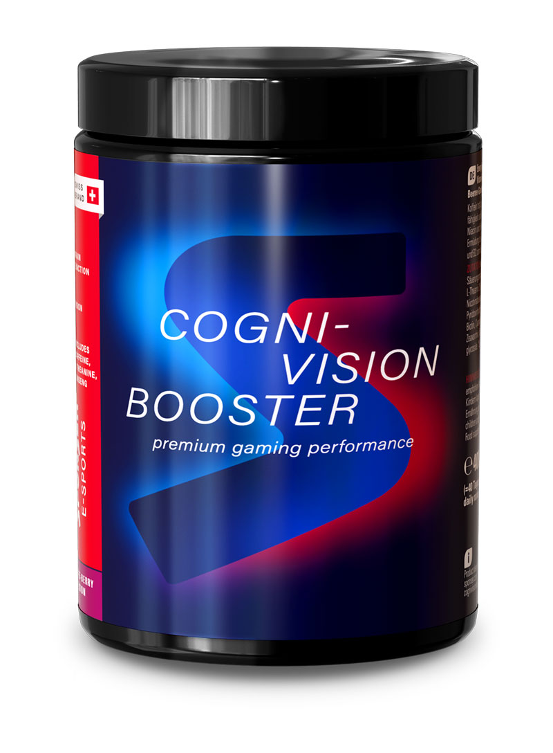 CogniVision Booster, Dose 400g, Lychee-Berry Fusion