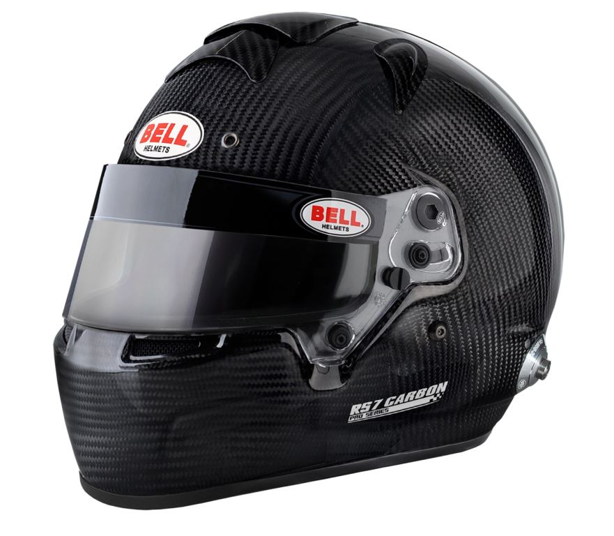Helm Bell, Modell RS7 Carbon, mit Hans-Clip